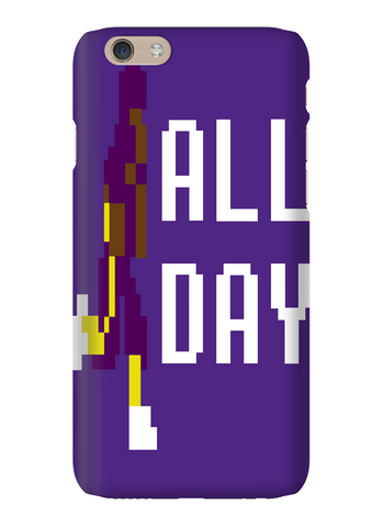 Adrian Peterson AP All Day 8 Bit Minnesota Football Phone Case