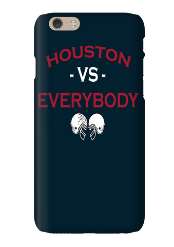 Houston Vs Everybody Football Phone Case