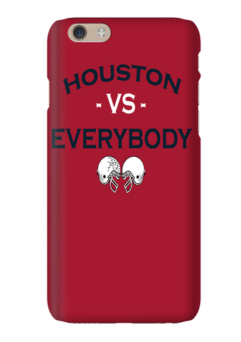 Houston Vs Everybody Football Red Phone Case