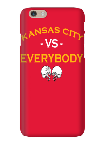 Kansas City Vs Everybody Football Phone Case