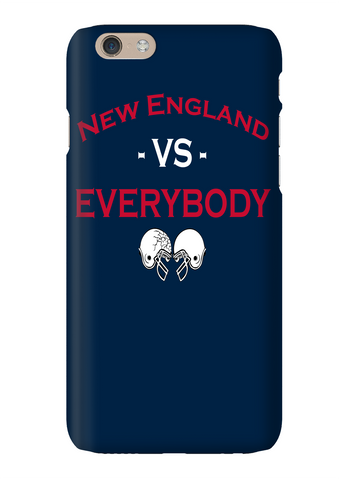 New England Vs Everybody Football Phone Case