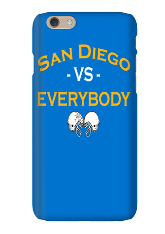 San Diego Vs Everybody Football Phone Case