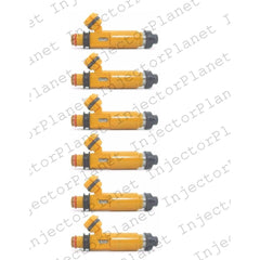 Denso 195500-3300 / 297-0009 / MD337900 / 842-12300 / 1550372 / FJ662 / 67272 / 4G1254 / 67272 / M621 fuel injectors set