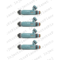 Denso 195500-4460 / 297-0042 / N3H213250 / 842-12331 / FJ674 fuel injectors set