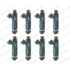 Denso 3420 / 23209-50040 / 23250-50040 / FJ387 / 1581510 fuel injectors set