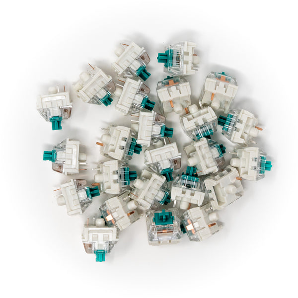 Kailh Speed Pro Light Green Keyswitches x 25