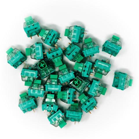 Kailh BOX Glazed Green Keyswitches x 25