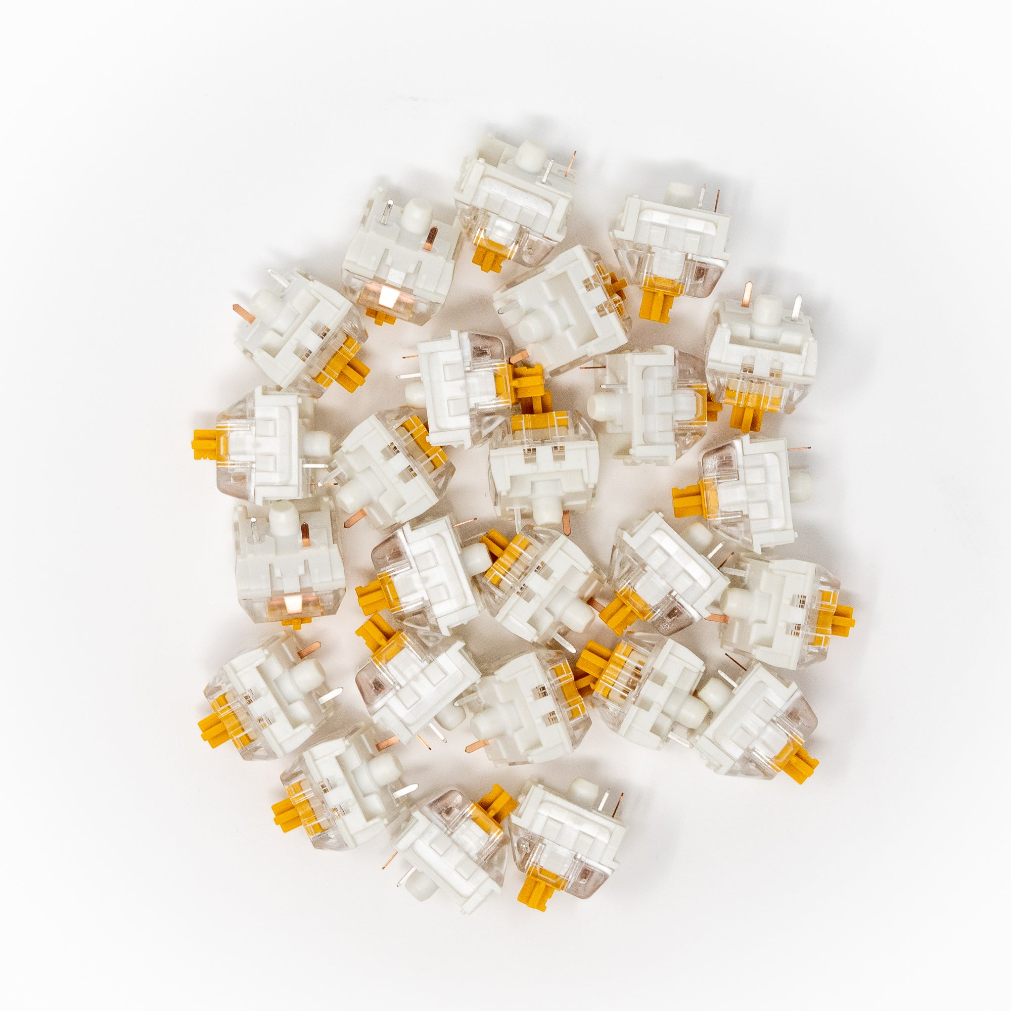 Kailh Speed Gold Keyswitches x 25
