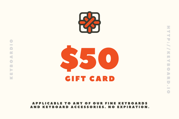 Keyboardio Gift Card