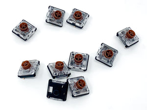 Kailh Choc v2 Brown Tactile switches x 10