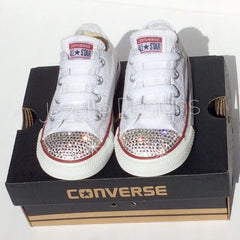 Bedazzled Baby Converse