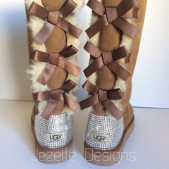 Swarovski Bailey Bow Uggs by Jezelle.com