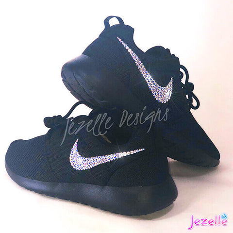 Blinged Out Nike Kicks