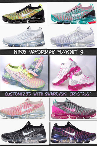 Vapormax 3 Swarovski Colors