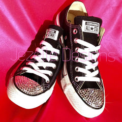 Blinged Out Converse - All Stars