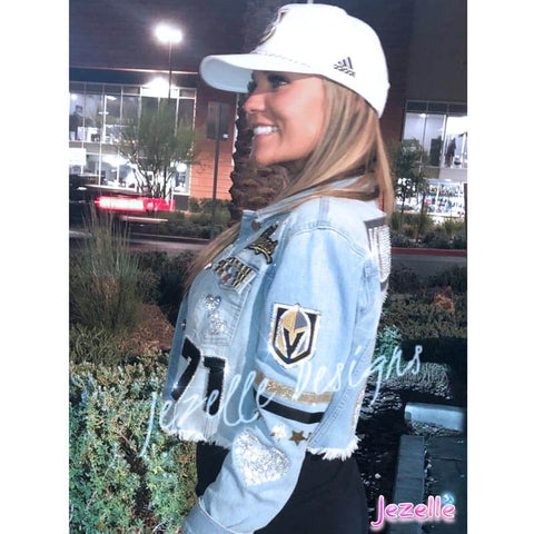 Vegas Golden Knights Swarovski Bling
