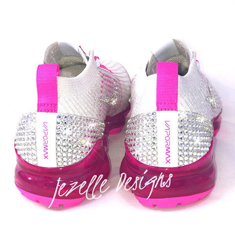 Blinged running shoes
