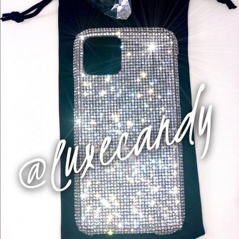 LuxeCandy Bling Rhinestone Mobile Phone Case