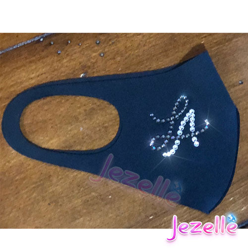 Flex-Fit Custom Bling Face Mask