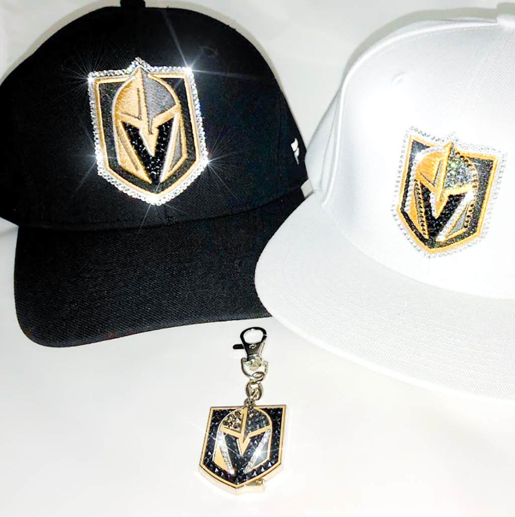 ✨Bling Swarovski Las Vegas Golden Knights Keychain! -LIMITED SUPPLY!