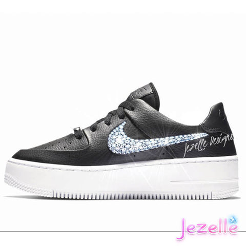 Image of Air Force 1 Blinged Out With Swarovski