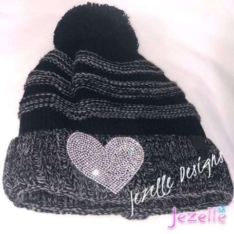 Blinged Knitted Hat