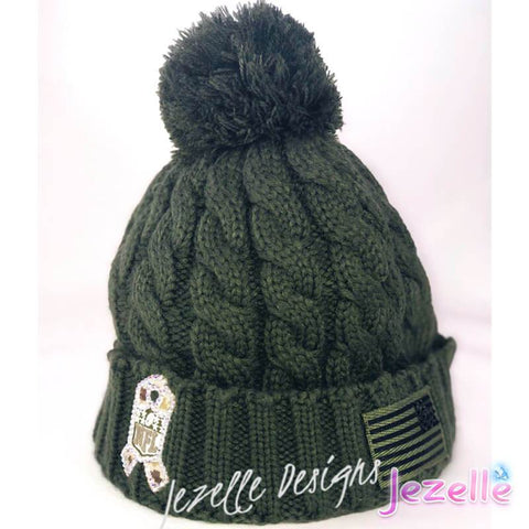 Blinged Out Beanie Hat