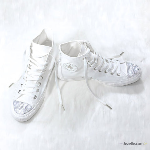 Image of Ivory Converse Swarovski Crystals
