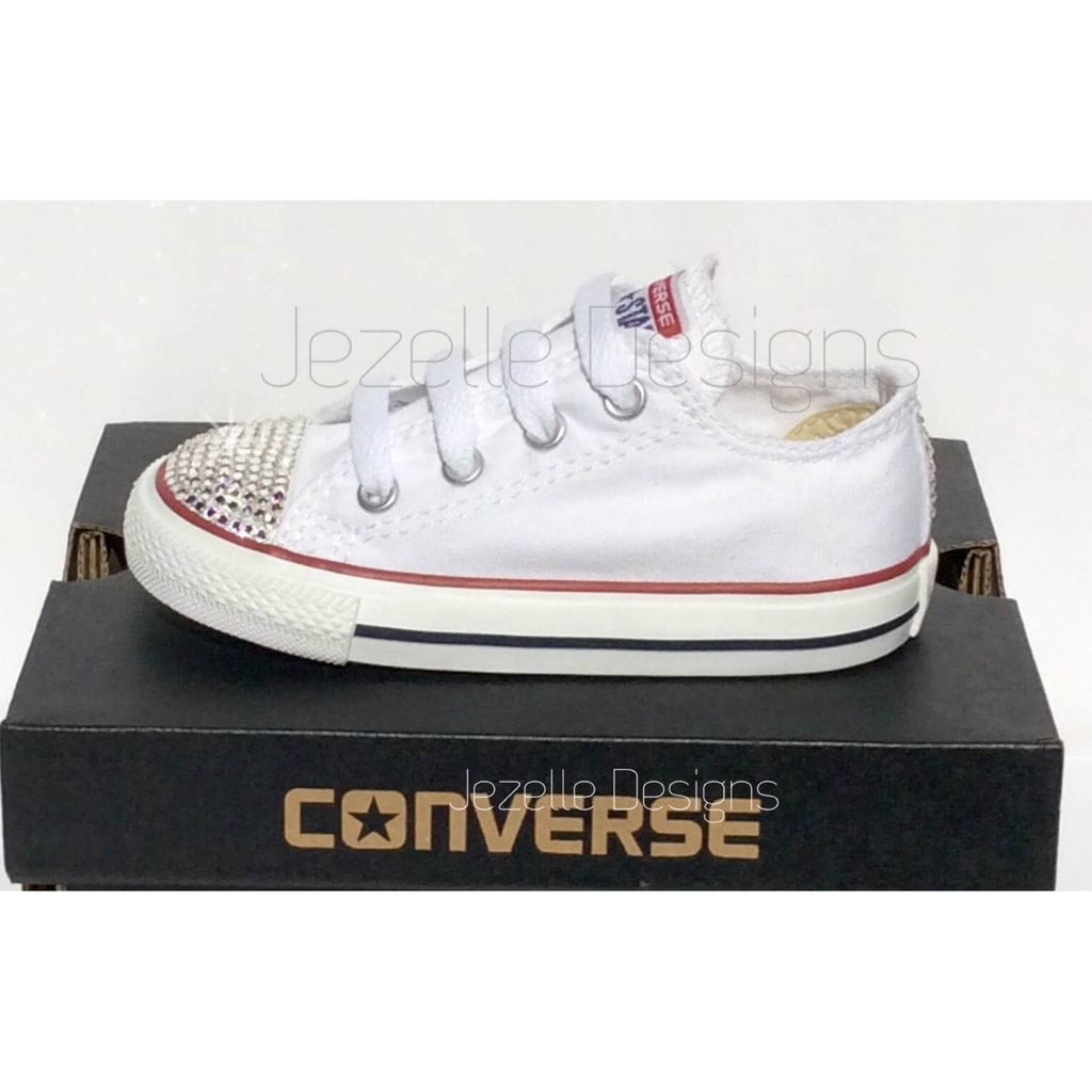 Blinged Out Converse - For Babies by Jezelle.com