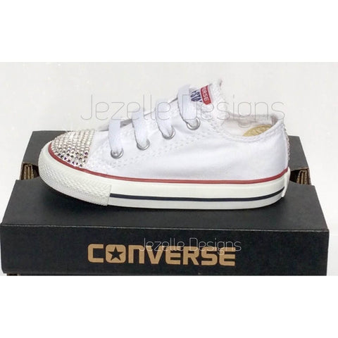 Image of Blinged Out Converse - For Babies by Jezelle.com