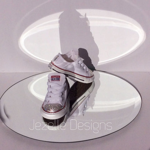 Image of Bedazzled Converse For Babies by Jezelle.com