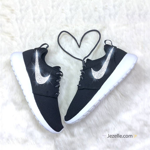 Image of Black Oreo Nike Roshes