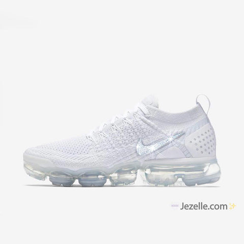 Blingy White Nikes