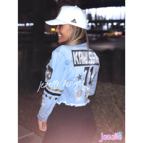 Image of Denim Jackets for Women With Bling