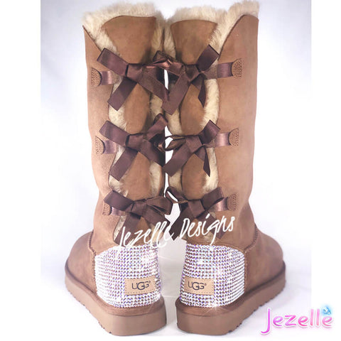 Image of Blinged Out Chestnut Uggs
