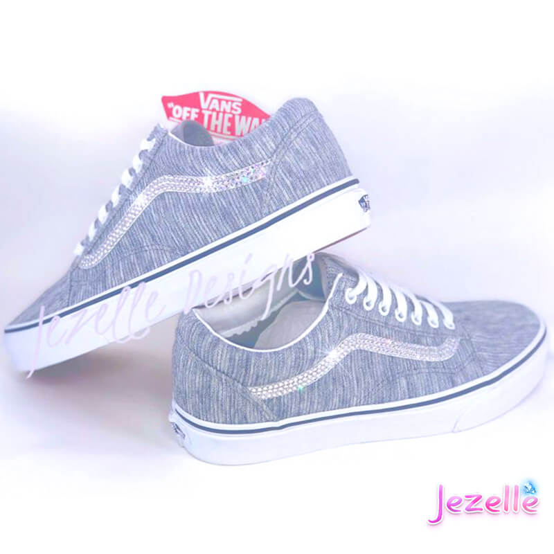 Crystallized Vans for Women