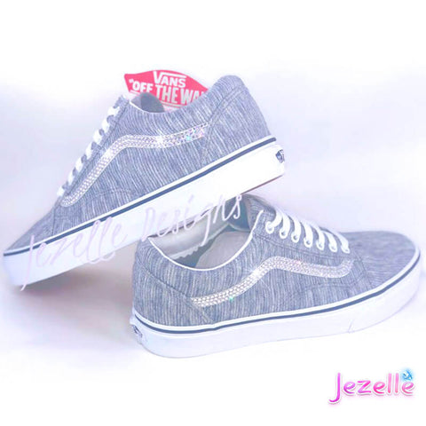 Image of Crystallized Vans for Women