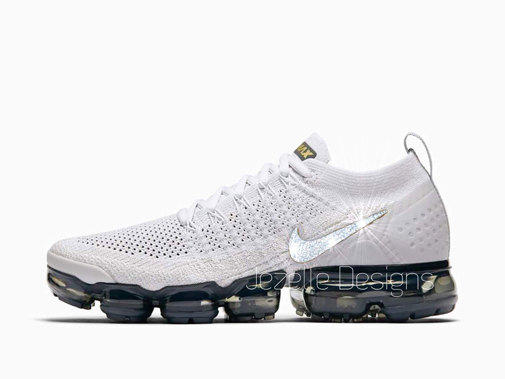 on sale a21eb aa3a5 Swarovski Nike Air Vapormax Flyknit 2 - White/Black