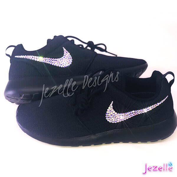 Nikes with Bling for women