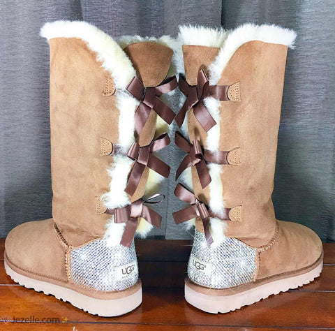 Image of Blinged Out Uggs