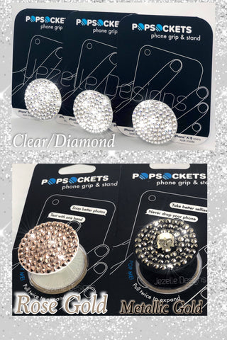 cute popsocket crystals