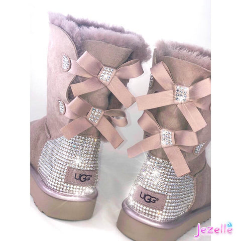 Image of Custom Rhinestone Uggs