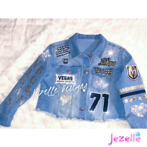 Image of Denim Jackets with Bling