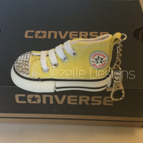 Blinged Out Converse Mini - Yellow