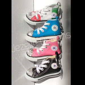 Car Bling Keychains - Mini Converse