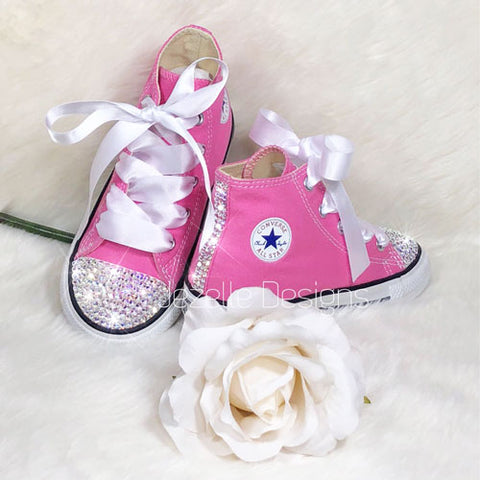 Kids Converse With Bling