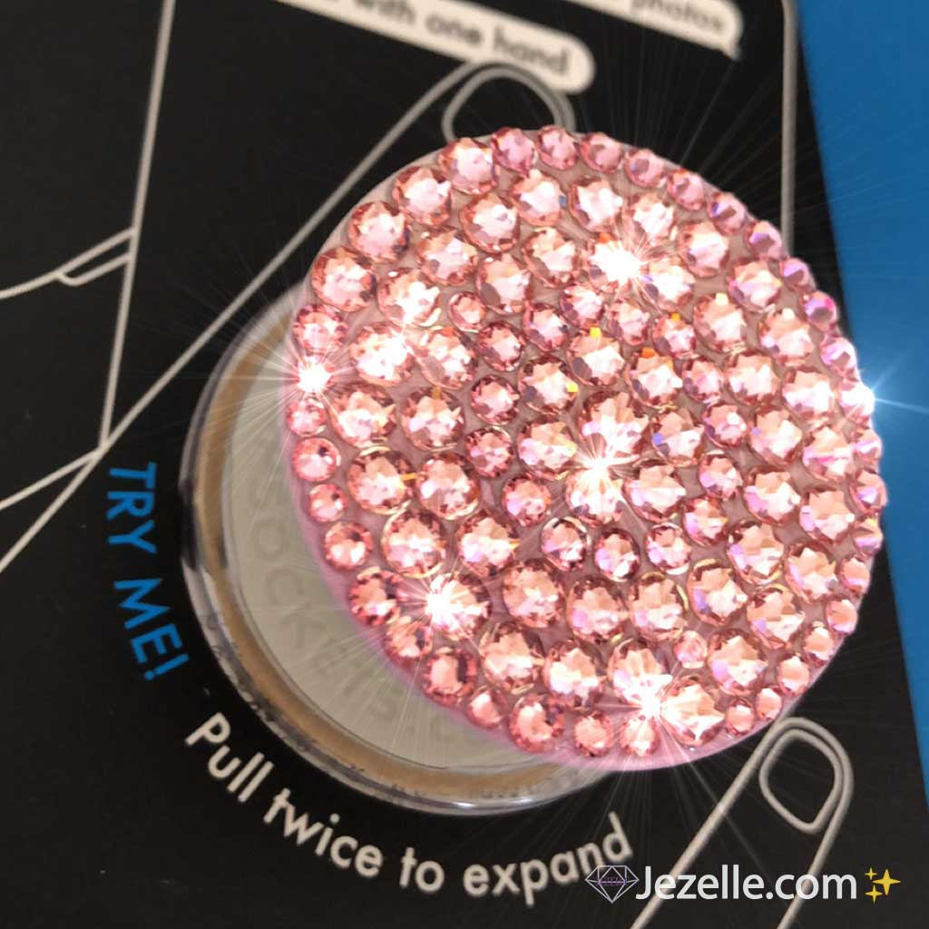 Rose Crystal Pop Socket