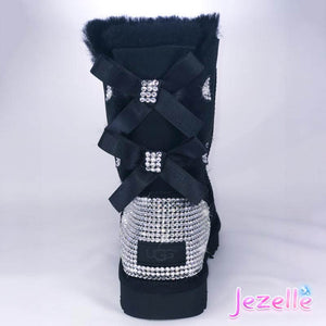 Custom Bailey Bow II Uggs® with Swarovski Crystals®