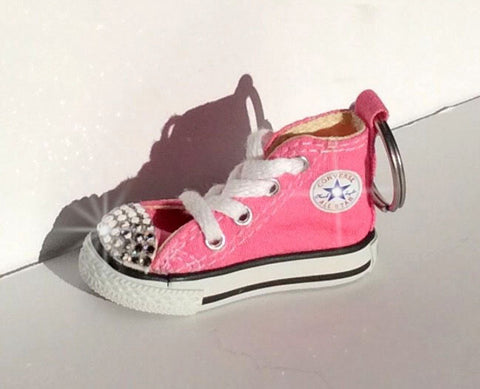 Image of Pink Bling Converse Keychain