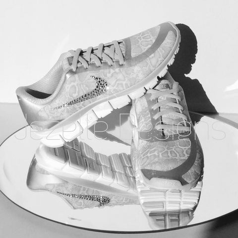 Image of Nike-Swarovski-Crystal-Trainers-Free-Run-5.0